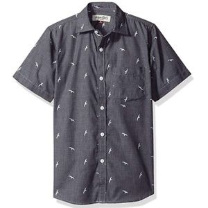 NWT Sovereign Code Chambray Bird Shirt 5T